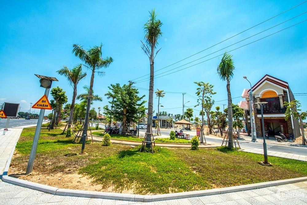 Epic Town Điện Thắng, giỏ hàng ngoại giao, Block trục 27m kết nối biển