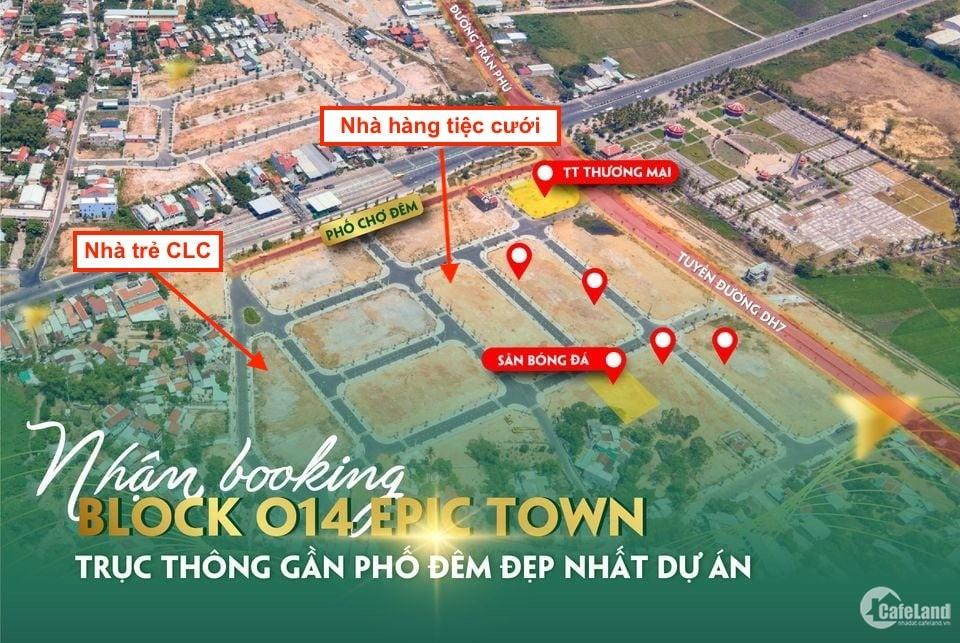 Bảng giá dự án Epic Town Điện Thắng block ngay trung tâm dự án