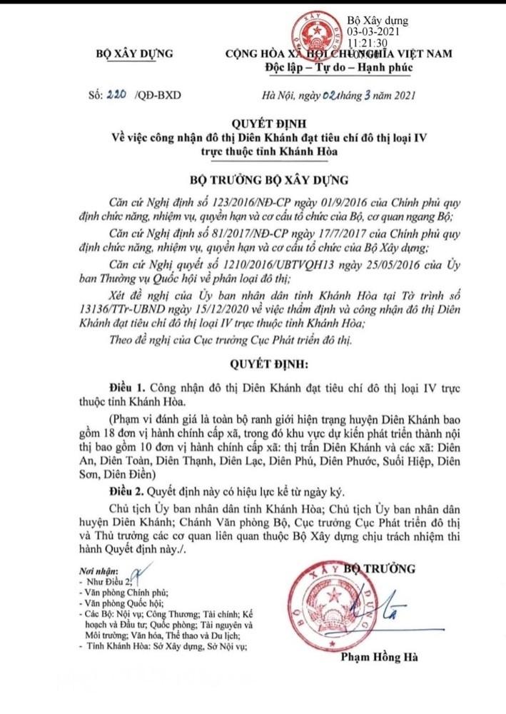 Bán Đất Diên Khánh - Giá F0 chỉ từ 350Triệu !