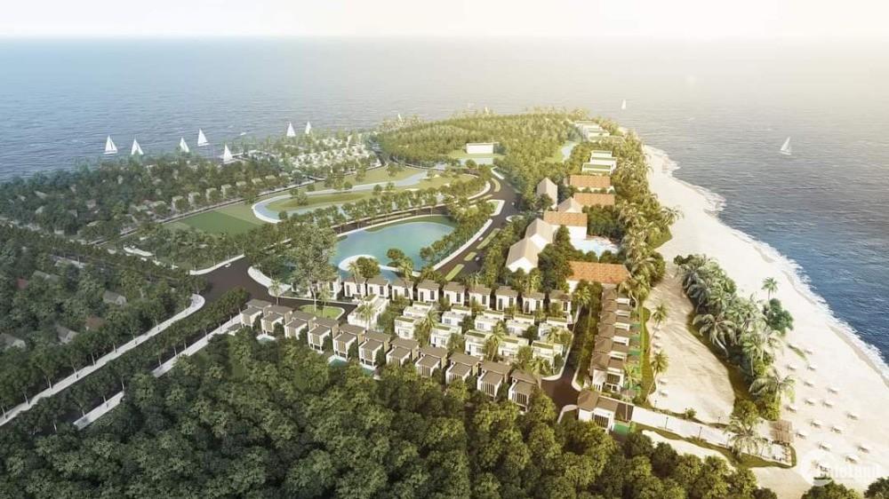 Đất nền biệt thự mặt biển trung tâm Tp. Đồng Hới, Quảng Bình