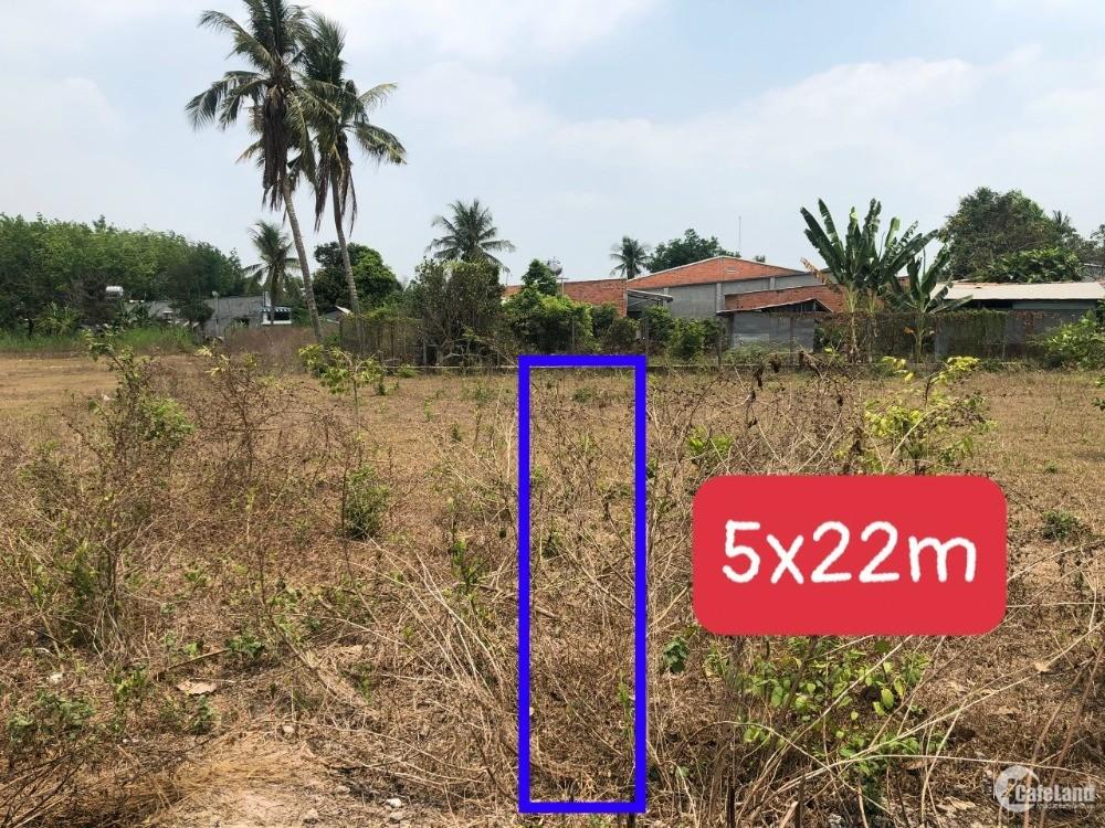 365 triệu sở hữu ngay lô đất gần ql22b, tin được không??