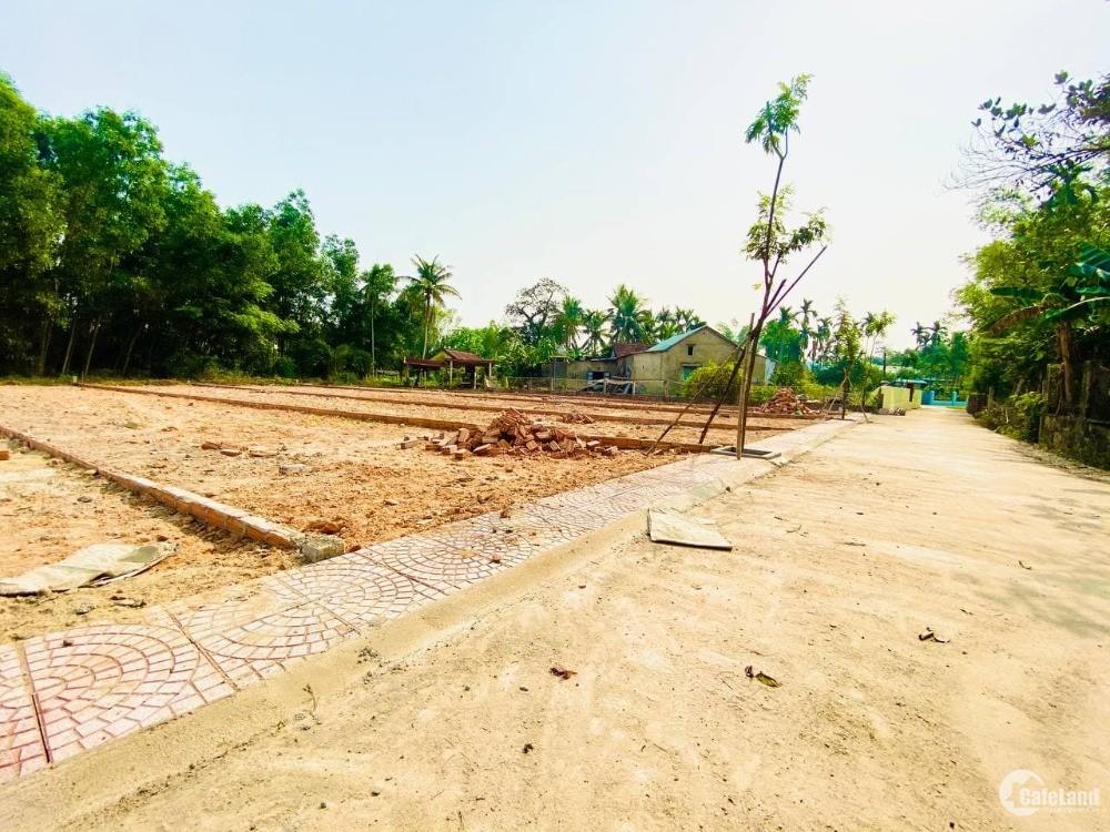 Bán lô đất ven Đà Nẵng- đã có sổ đỏ, khu đông dân cư hiện hữu