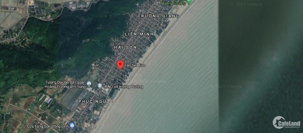 Cần tiền muốn ra đi nhanh Lô thổ cư ven biển Hải Tiến. Thanh Hoá.