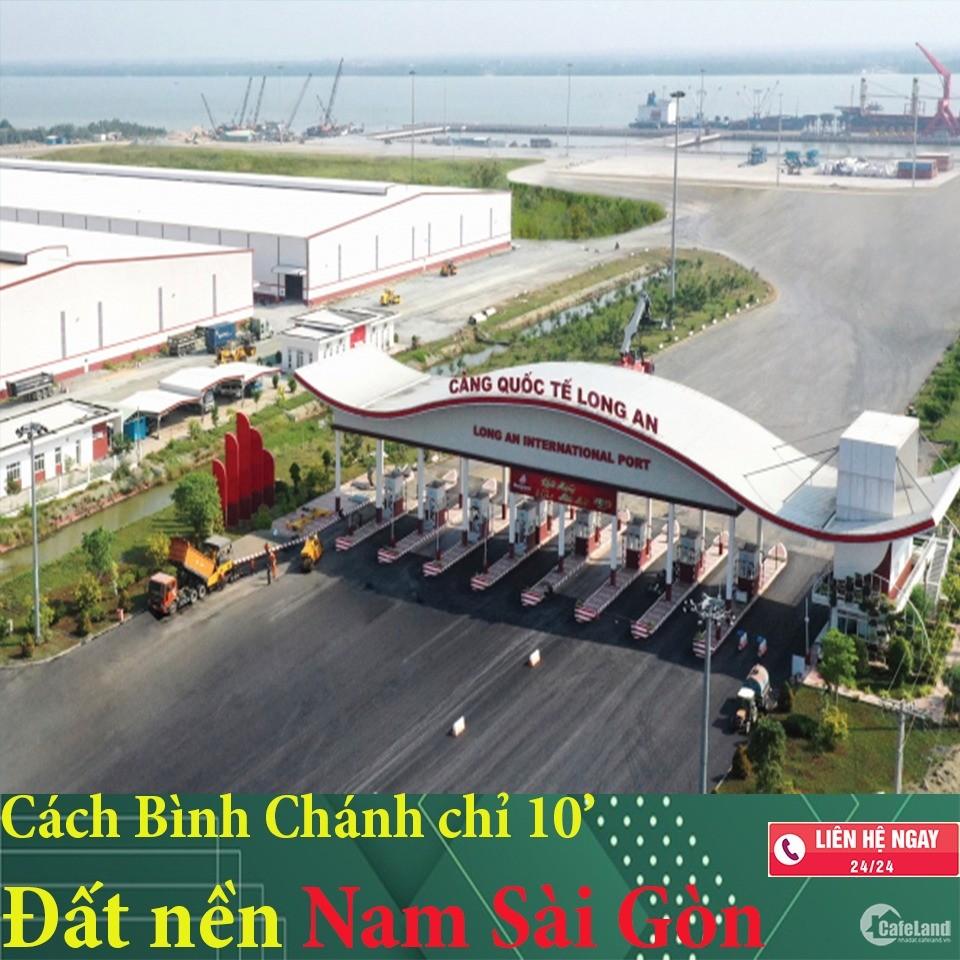 MỞ BÁN GĐ 1. Đất nền Quốc Lộ 50. Gần cảng QUỐC TẾ LONG AN