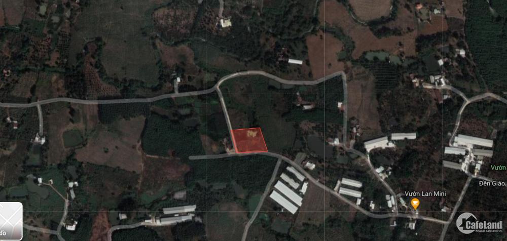 Bán đất huyện Long Thành Xã Bàu Cạn 2 mặt tiền 4404m2 gần sân bay LH: 0907016378
