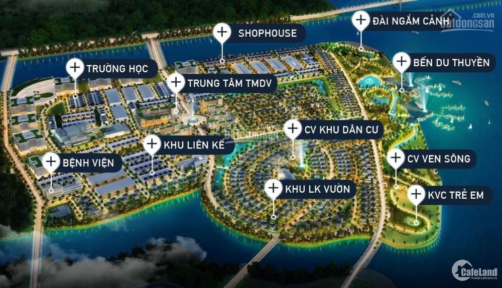 Dự án King bay, Nhơn trạch, 3 mặt giáp sông, bến du thuyền và đường Vành đai 3