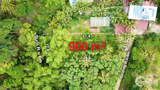 Bán mảnh đất 900m xây bungalow, resort phố Tây Cửa Lấp Trần Hưng Đạo TP Phú Quốc