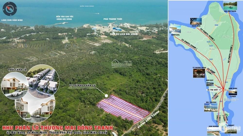 Bán đất nền nhà phố thương mại Hàm Ninh Phú Quốc