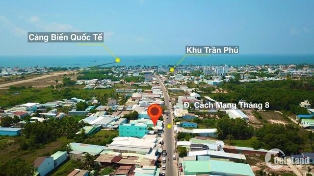 Bán mảnh đất mặt tiền đường Cách Mạng Tháng 8 Phường Dương Đông TP Phú Quốc