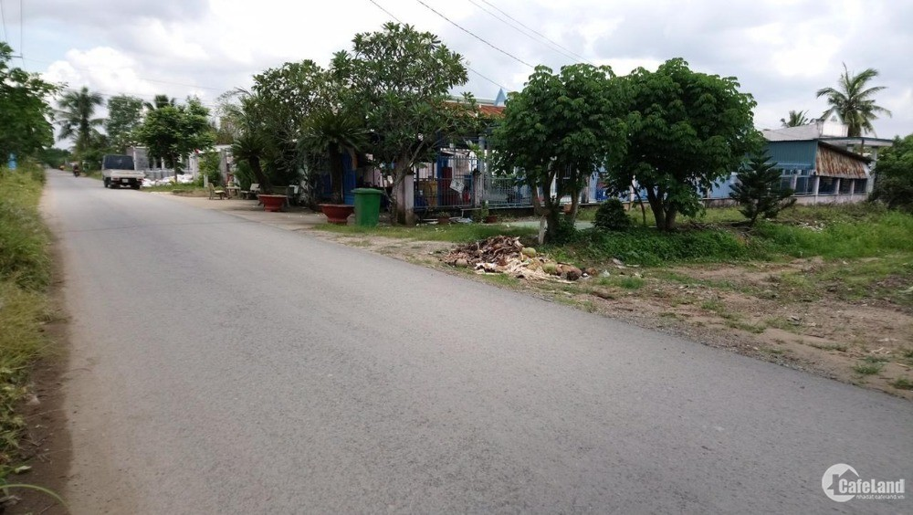 Bán đất quận 9 mặt tiền đường số 8 phường Trường Thạnh vuông vức, ngang 22m