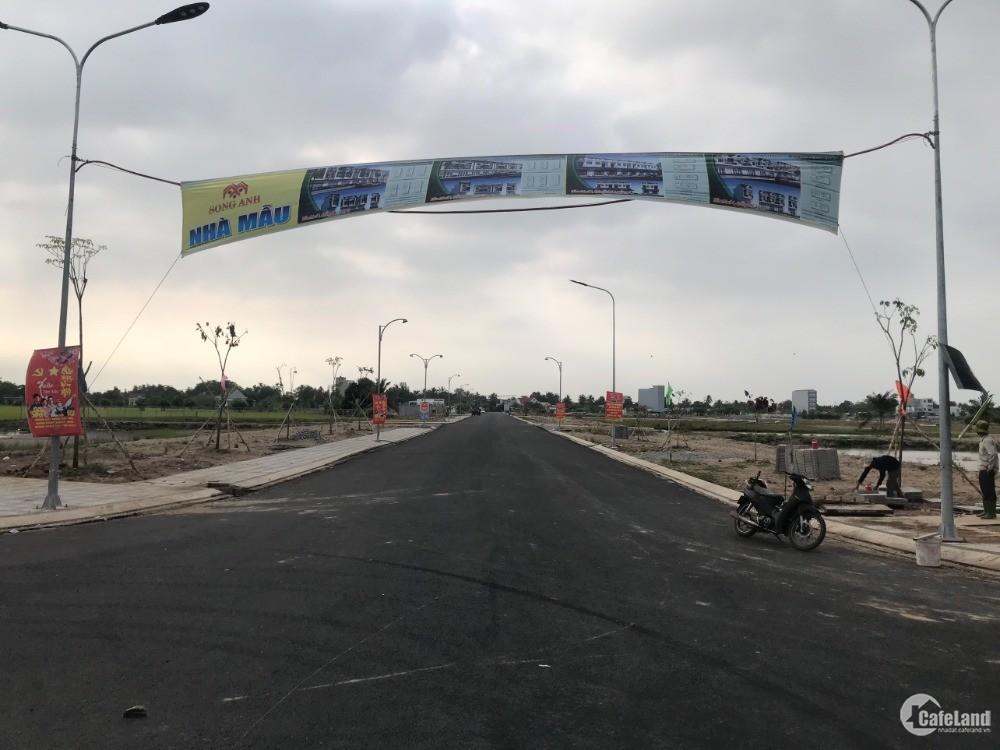 Nền mặt tiền lộ giới rộng nhất dự án