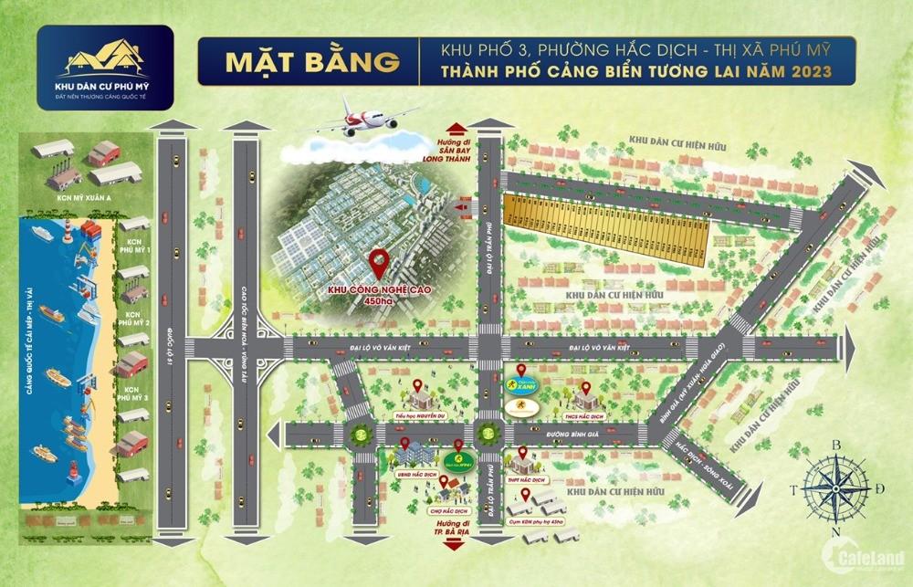Bán gấp lô đất 228m2 nằm ngay trung tâm P. Hắc Dịch, giá đầu tư F0