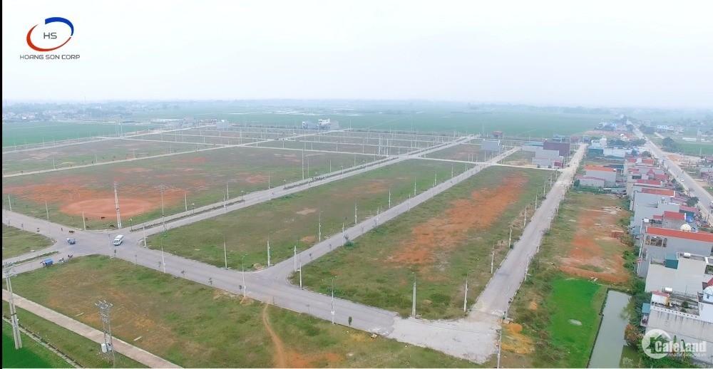 Đất nền mặt cổng chính bệnh viện Đa Khoa Quốc Tế Sao Mai - Triệu Sơn, Thanh Hóa