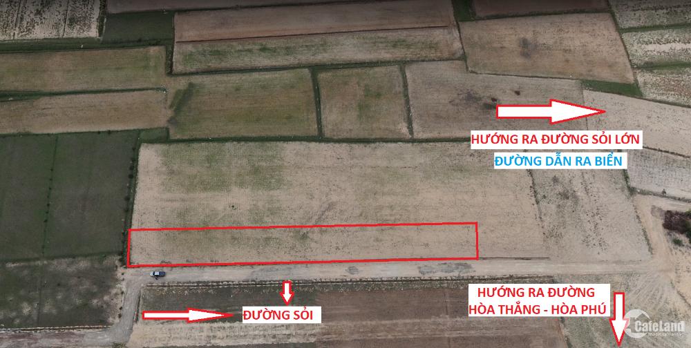 Cực phẩm đất biển, mặt tiền đường sỏi 129m, liền kề DT716B, chỉ 1tr2/m2, sẵn sổ