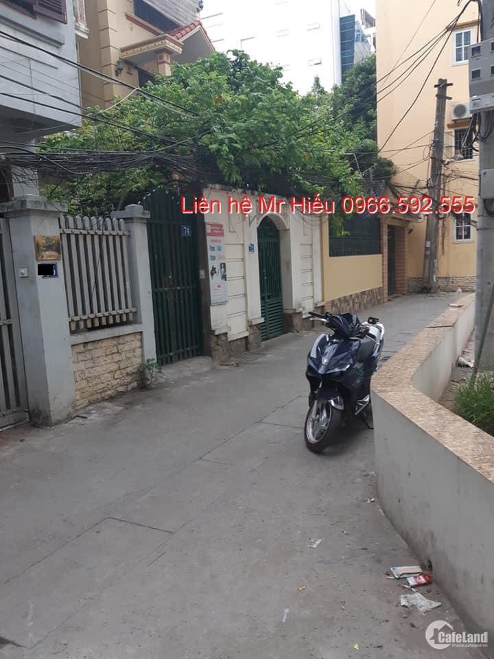 GN101 - Bán Nhà Giáp Nhất Trong Ngõ oto, Kinh Doanh, Sân Chơi Trước Nhà - 5Tầng