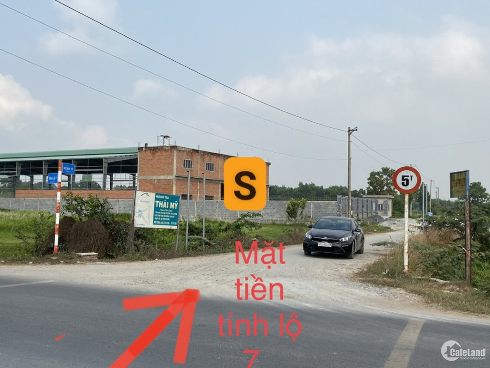 Bán đất MT kênh 17 -  cách TL 7  chỉ 100m - 11. 000m2