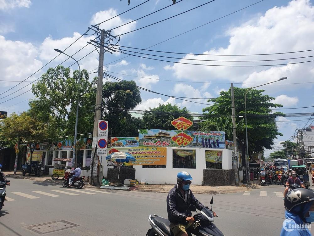 Bán nhà góc 2 mặt tiền đường Hương Lộ 2, P.BTĐ, Quận Bình Tân.
