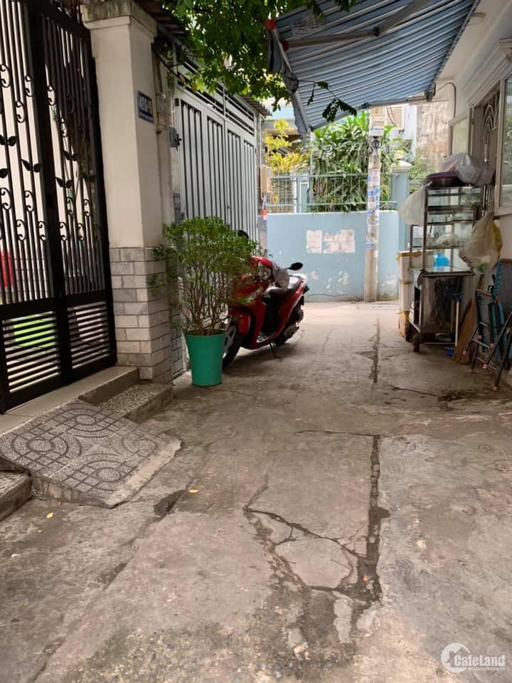 Nhà 2 Mặt Hẻm,  Huỳnh Văn Bánh Phường 14 Phú Nhuận 76m2, 3 tầng,