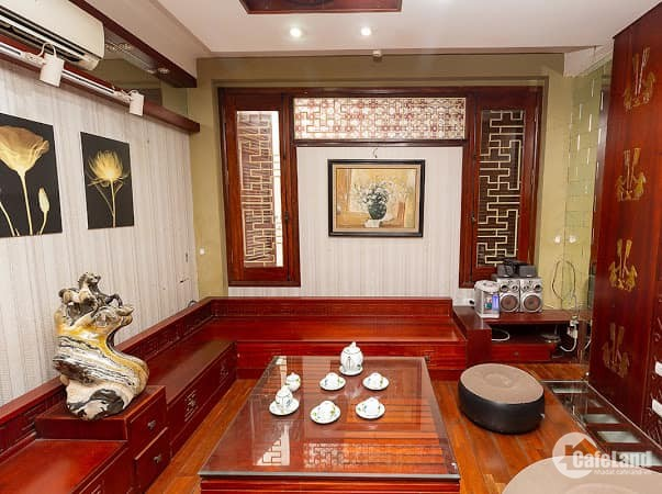 Bán nhà Vương Thừa Vũ, 45m, 5t, mt 4m, nhỉnh 5 tỷ, phân lô-ô tô đỗ cửa: LH