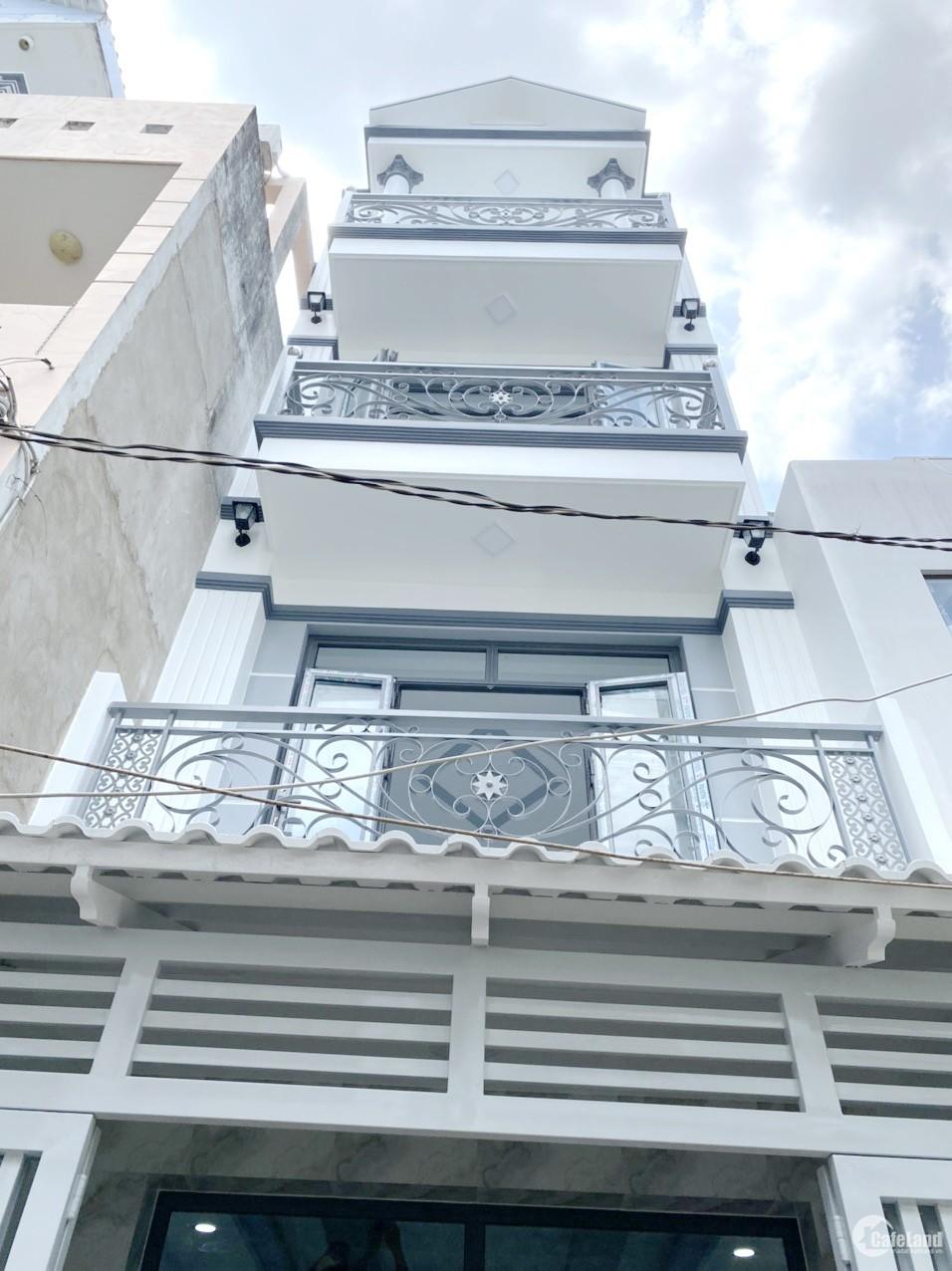 Nhà 64m2, 3 tầng, 4PN, hẻm 154 Âu Dương Lân P3 Q8