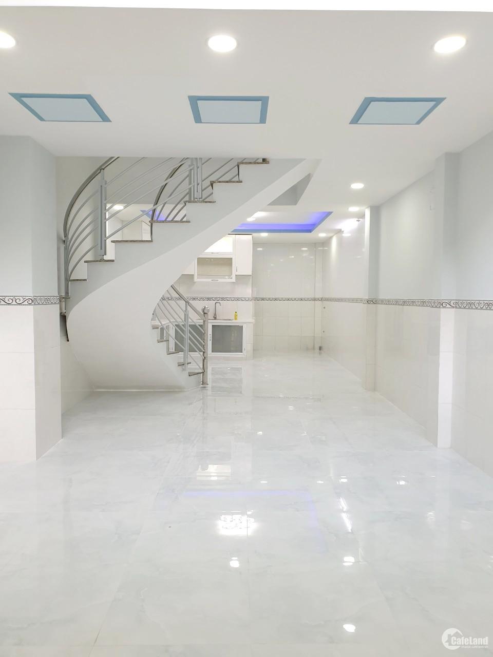 Nhà mới, đẹp, (4*17m/4 tầng/4PN) hẻm 184 Âu Dương Lân P3 Q8