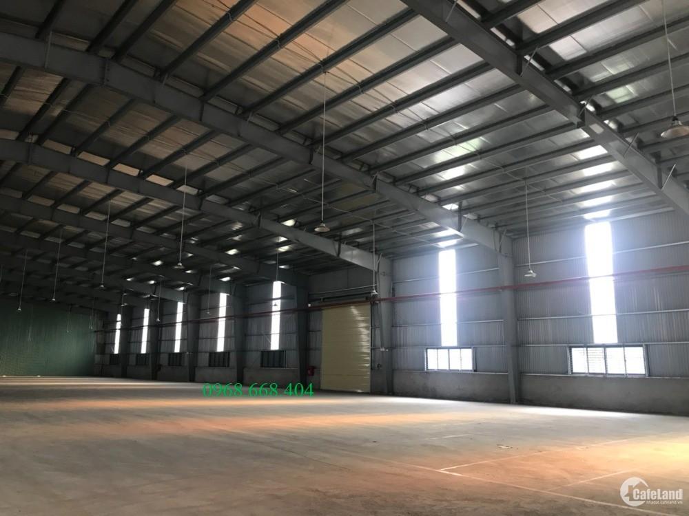 cho thuê nhà Xưởng 3.600m2, đẹp, giá rẻ nhất tại KCN Đại Đồng.
