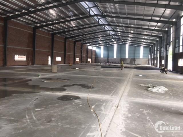 Cho thuê kho xưởng DT 1500m2, KCN Tân Quang, Văn Lâm, Hưng Yên.