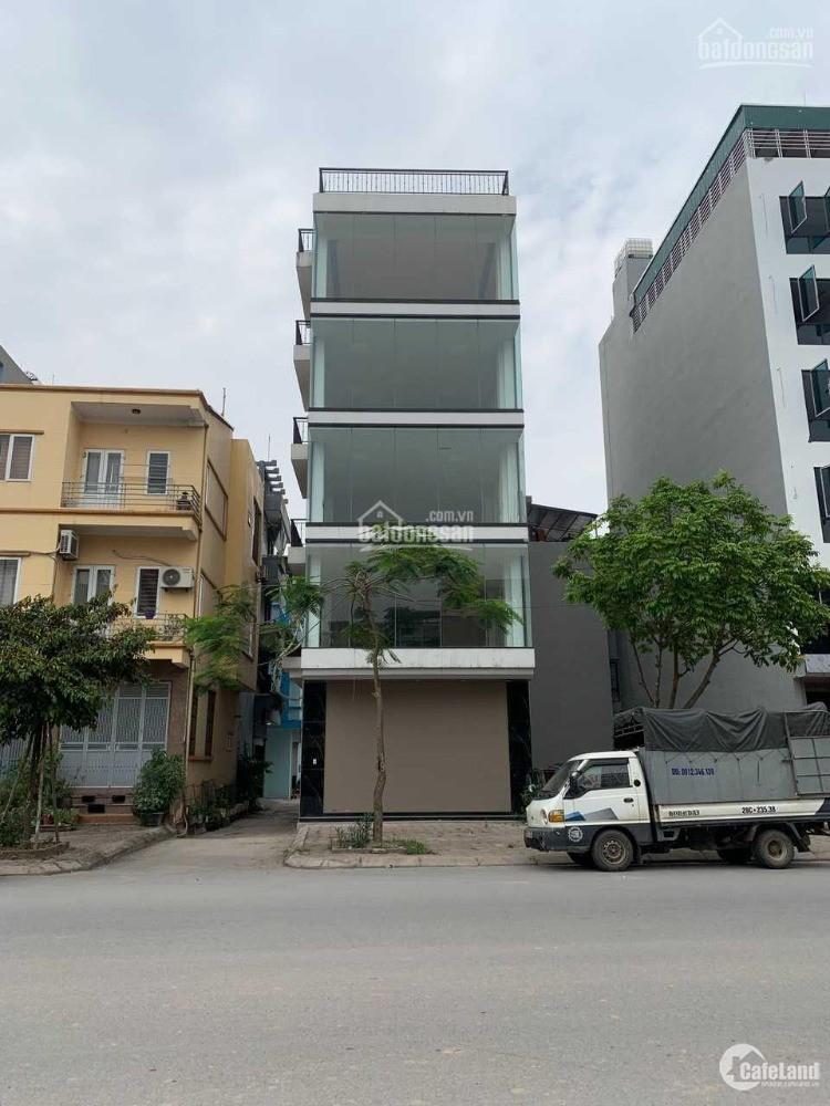 Cho thuê tòa nhà VP Trâu Quỳ -6 tầng Lô góc 88m2 Thành Trung. 0982852808