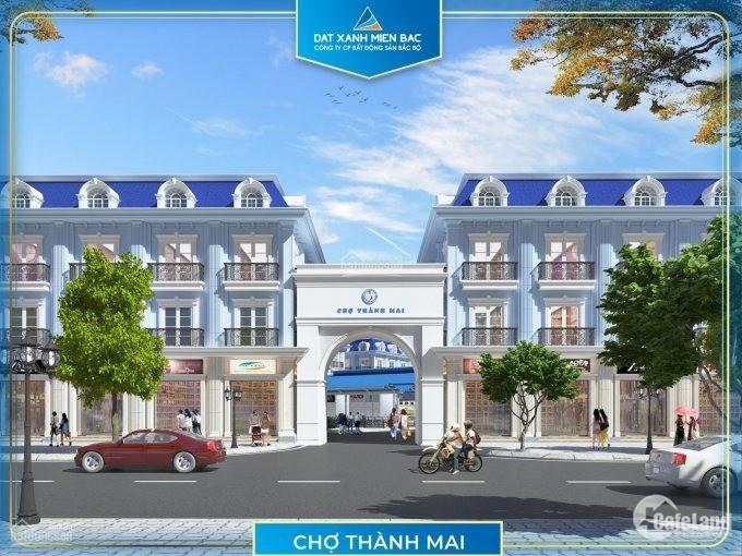 Cho thuê Ki ốt 3 tầng, 1 tum chợ Thành Mai, phường Quảng Thành, Tp Thanh Hóa.