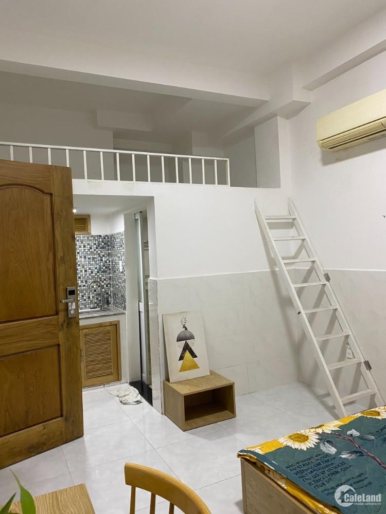 Căn hộ có gác quận 7 số 36 đường Lê Thị Chợ