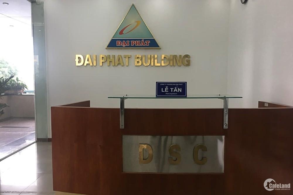 Văn phòng cho thuê giá rẻ 180nghìn/m2 tòa Đại Phát Duy Tân DT169m2,LH:0943898681