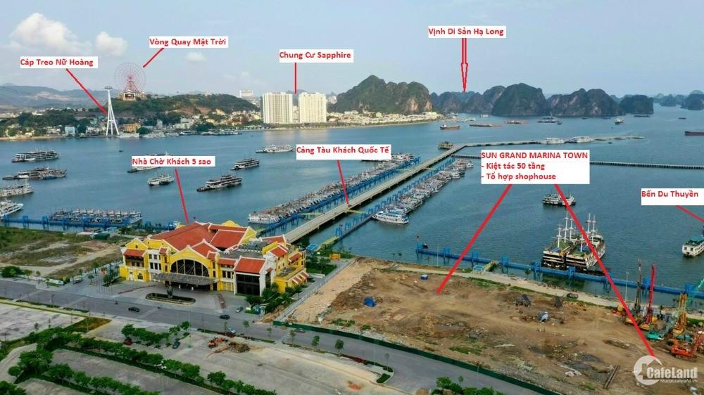 Căn hộ cao tầng mặt biển đầu tiên có 2 toà tháp đôi Hạ Long