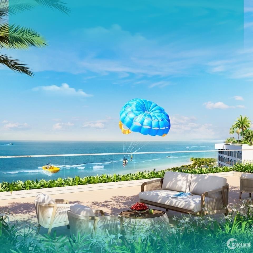 Căn hộ biển nội thất chuẩn quốc tế chỉ từ 475 triệu, gói quà tặng lên đến 250 tr