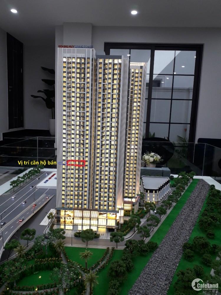 Chung cư Hoàng Huy Sở Dầu 63m2 tầng 15