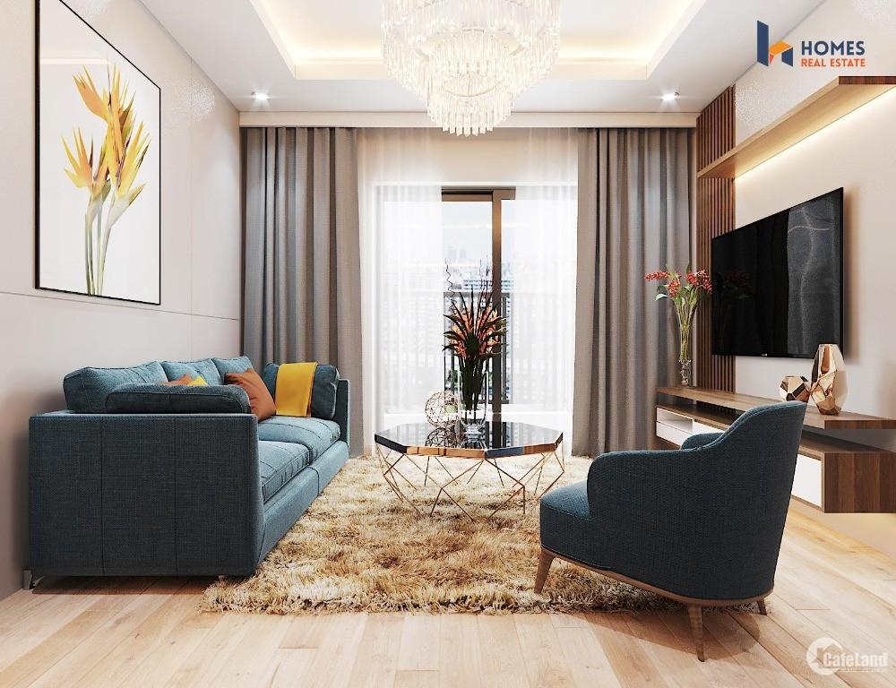 Bán căn hộ cao cấp 63m2 giá 2tỷ (gồm VAT + KPBT) + 2pn tại dự án Le Grand Jard
