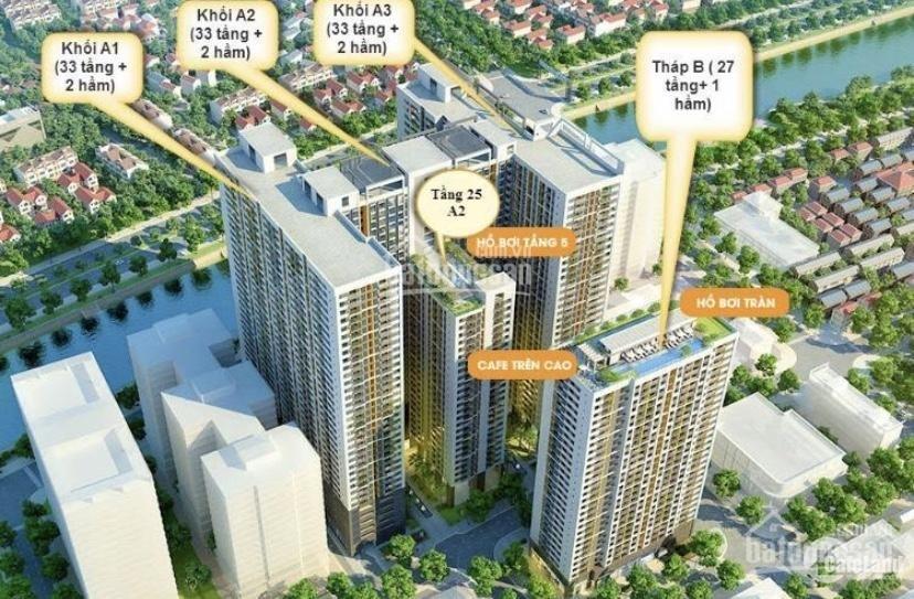 Bán căn hộ  The Gold View Quận 4, 2 phòng ngủ , 2 nhà tắm Block A1