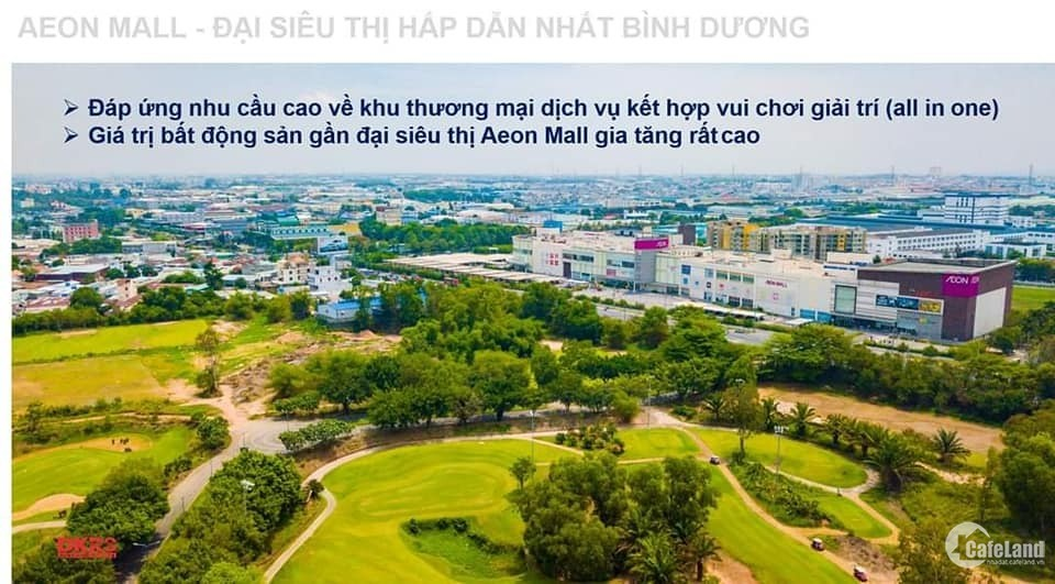 Căn hộ tặng full nội thất chỉ 2 tỷ, cạnh Aeon, Visip 1, sân golf Sông