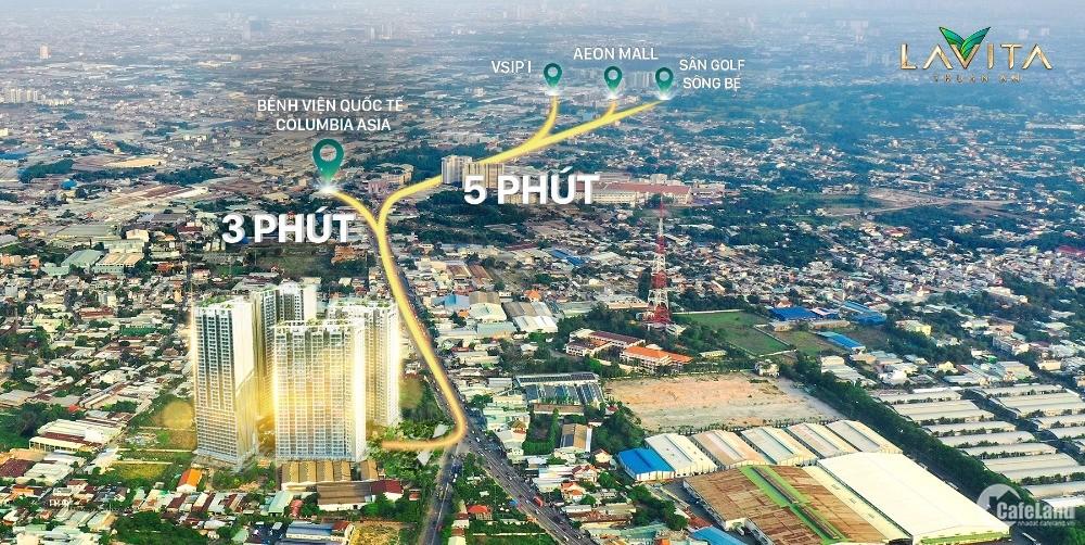 Dự án chuẩn resort 5* Lavita Thuận An giá chỉ 33tr/m2