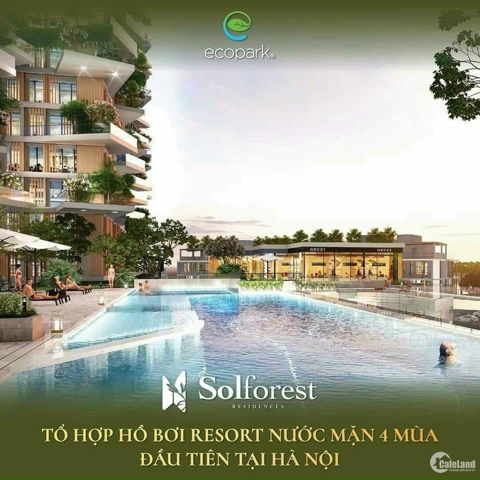 Căn 2PN giá rẻ duy nhất còn sót lại của tòa Solforest Ecopark