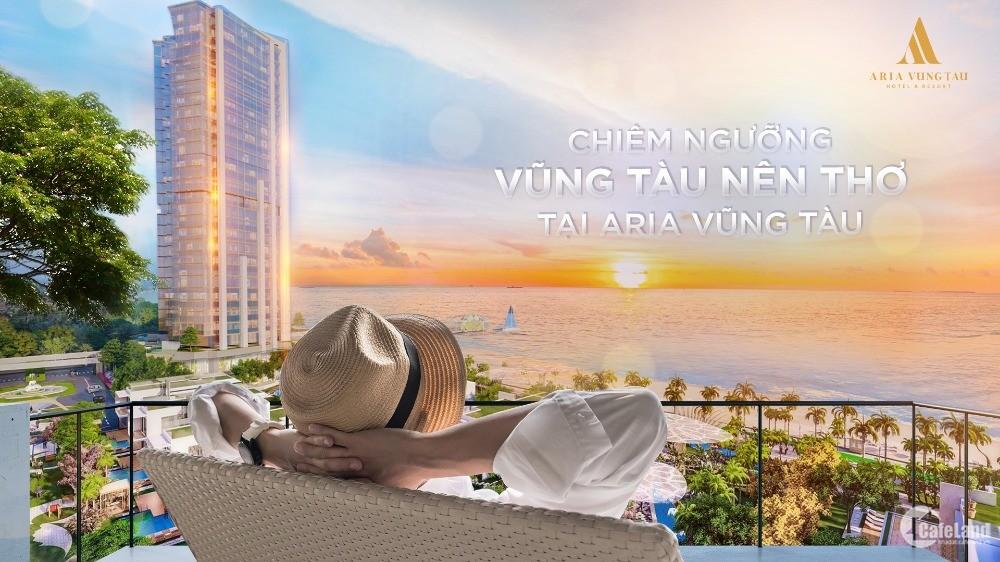 Căn hoa hậu Aria Vũng Tàu 176m² ôm trọn biển Đông. Ck 10%