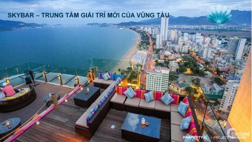 Căn hộ mặt tiền đường Thi Sách, ven biển Vũng Tàu, 93m2 giá 3,7 tỷ, CK18%