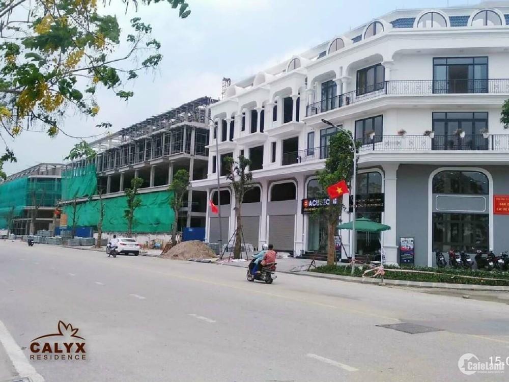 ĐÓn sóng đầu tư liền kề - Shophouse dự án 319 Uy Nỗ Đông Anh - Calyx Residence