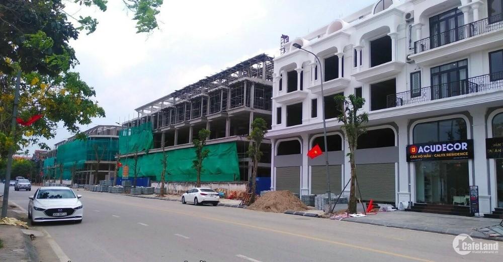 Cần nhượng lại lô Shophouse - SUẤT NGOẠI GIAO - Dự án 319 Uy Nỗ-Calyx Residence