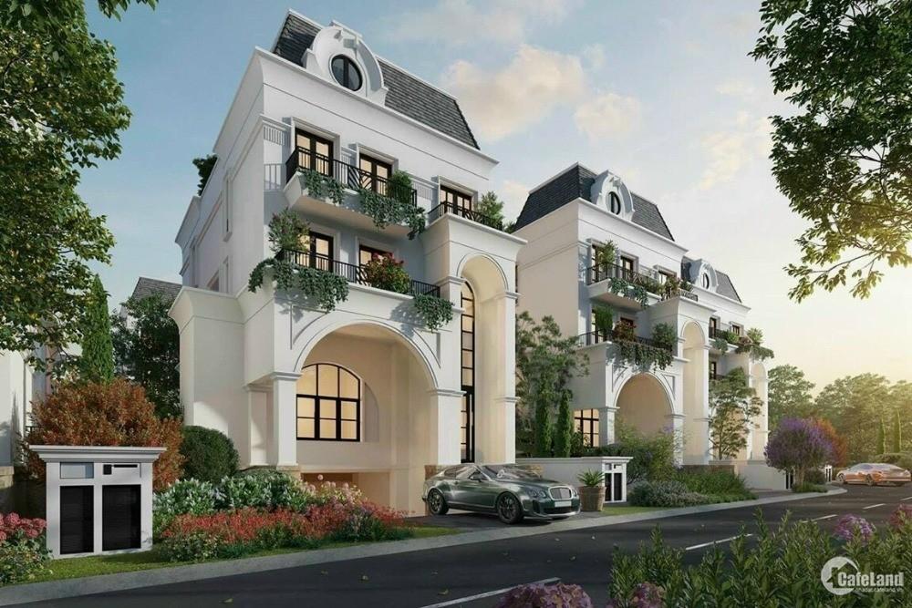 Biệt thự đơn lập LE JARDIN trong KĐT ParkCity HaNoi chỉ 7 căn cực kì đẳng cấp