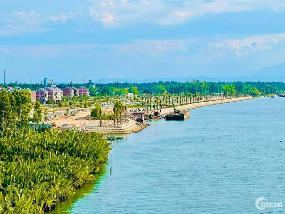 Chính chủ bán nhà 3 tầng view sông Thu Bồn giá 3,xx tỷ