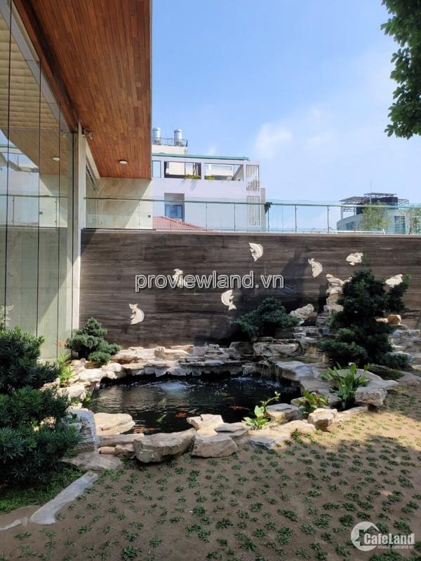 Biệt thự Thảo Điền, Thủ Đức, 1 hầm + 4 lầu + áp mái, 871m2, sổ hồng, giá 170 tỷ