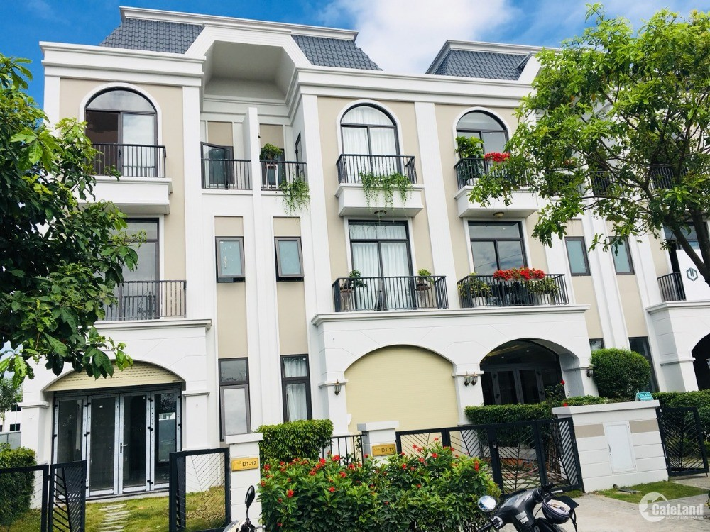 Nhà phố 1 trệt, 2 lầu 5x20m ngay trung tâm thành phố Tân An .