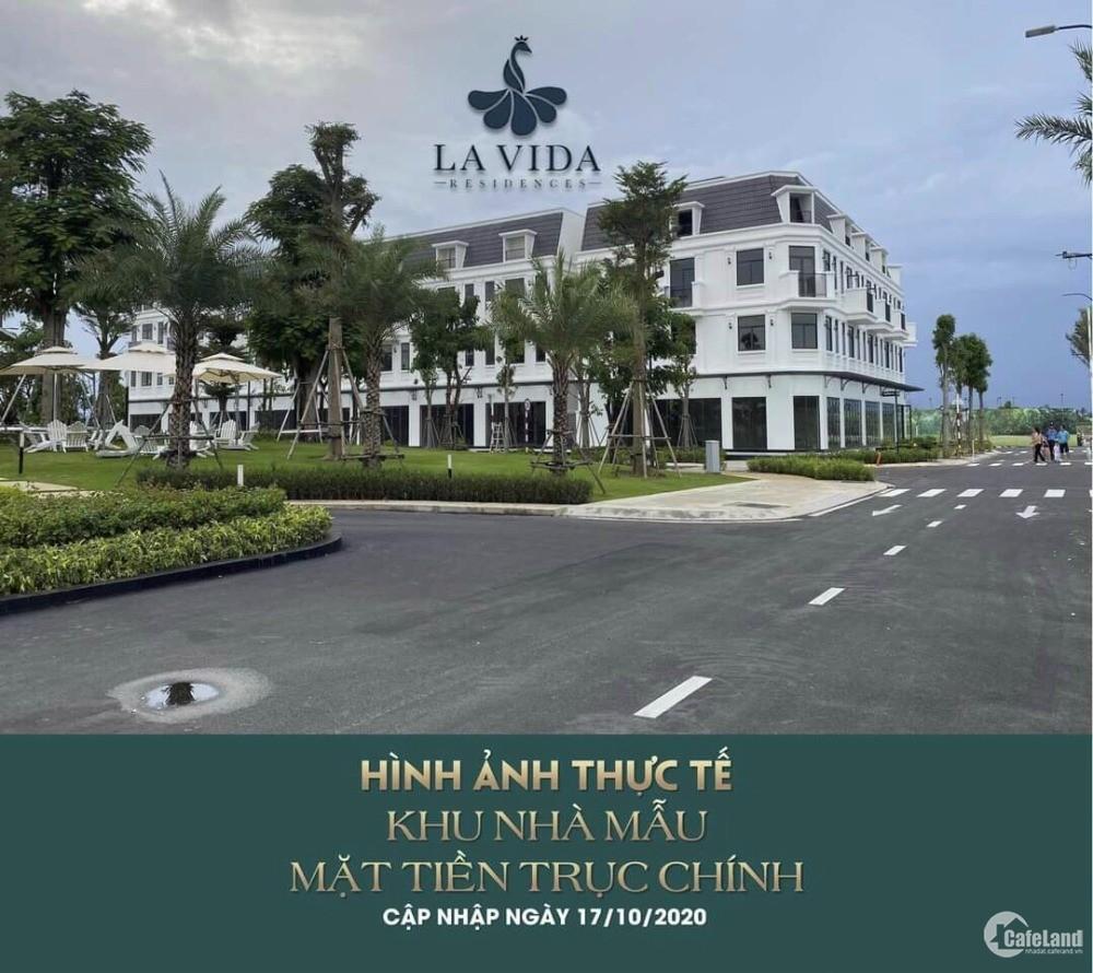 Nhà phố giá rẻ Lavida Vũng Tàu, đường 3/2 trả trước chỉ 1,6 tỷ, Giao nhà thô