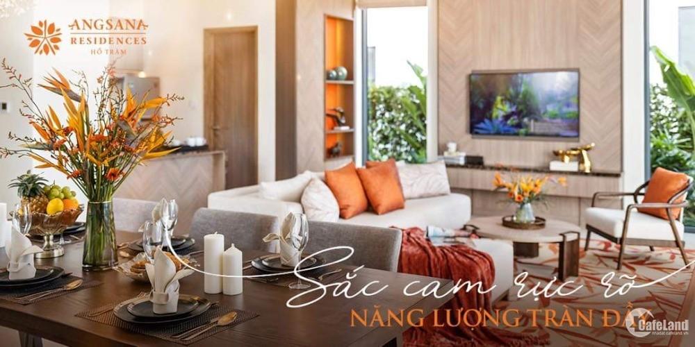 Biệt thự biển Hồ Tràm Angsana Residences còn duy nhất 1 căn mặt biển giá 34 tỷ