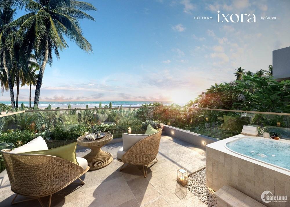 Bán biệt thự biển Hồ Tràm Strip chỉ 17,5 tỷ/ căn villa 3PN có hồ bơi, hồ Jacuzzi